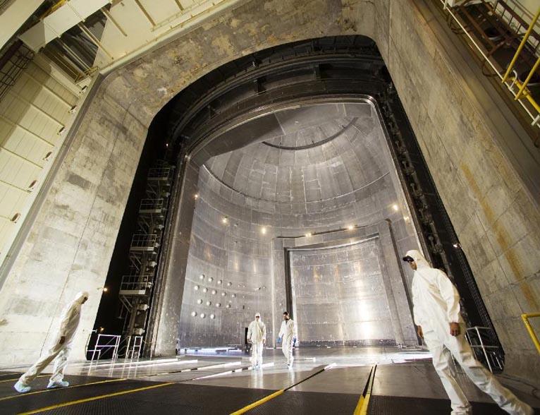 World's Largest Vacuum Chamber