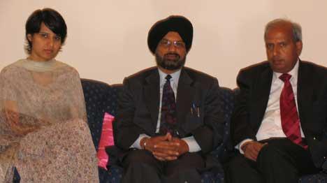 Managing Editor of Daily Ajit Dr. Barjinder Singh Hamdard