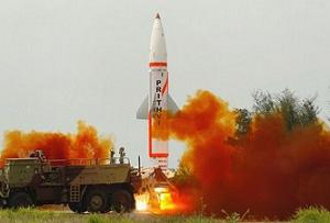 Two Prithvi-II missiles testfired within a gap of five minutes