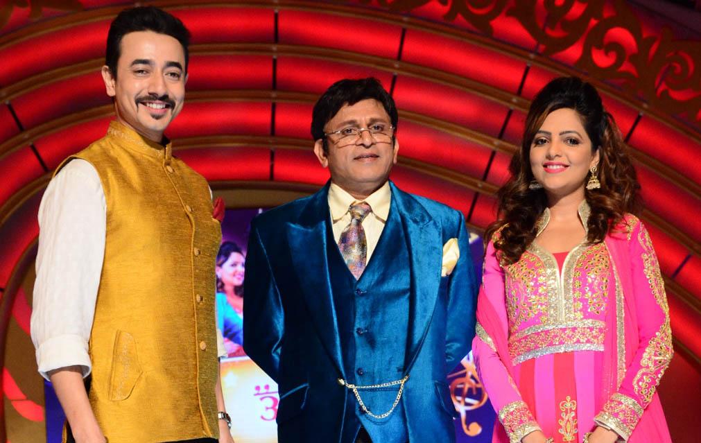 SAB TV Family Antakshari team - Mantra, Annu Kapoor & Sugandha Mishra