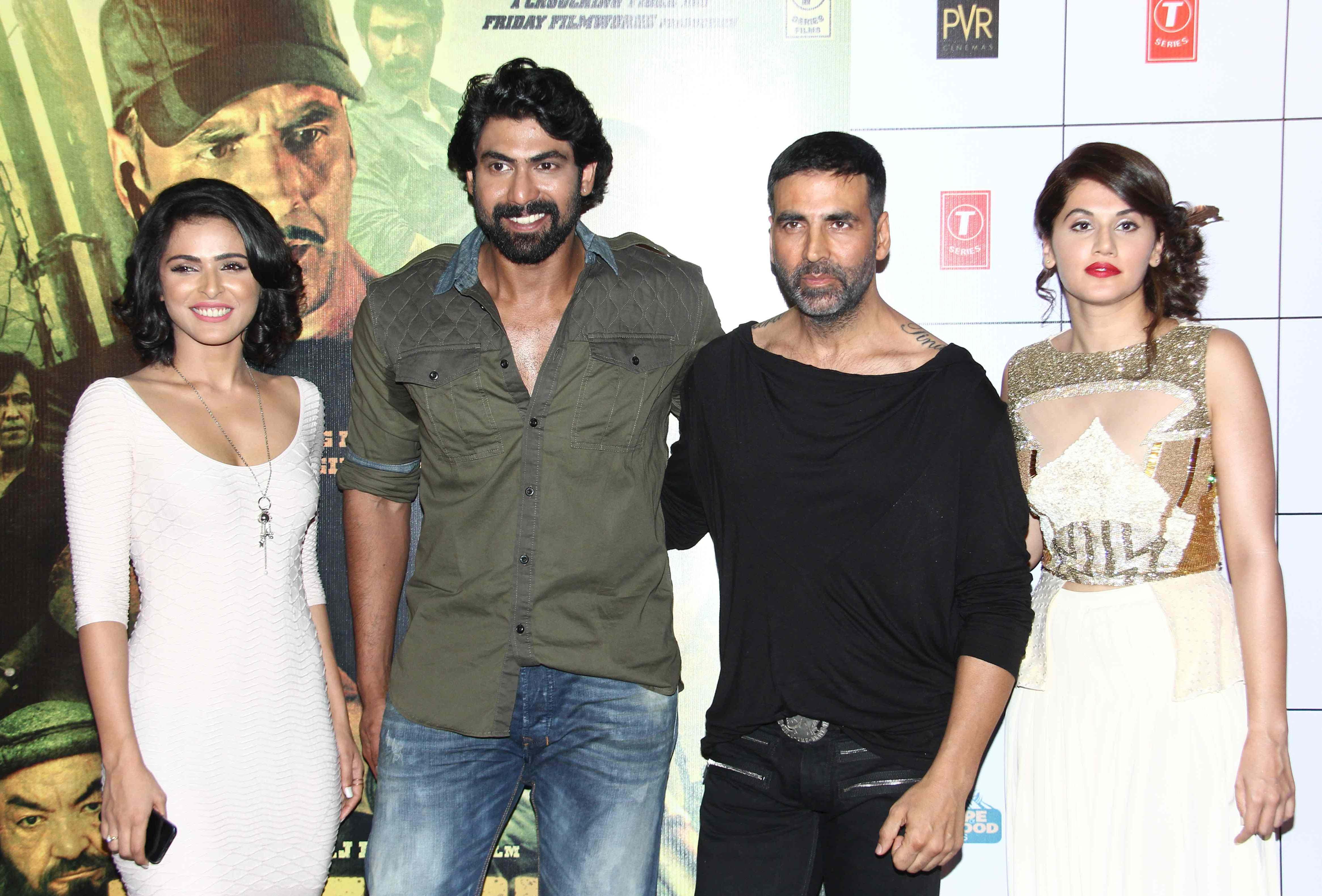 Madhurima Tuli, Ranna Daggubati, Akshay Kumar and Tapsee PAnnu