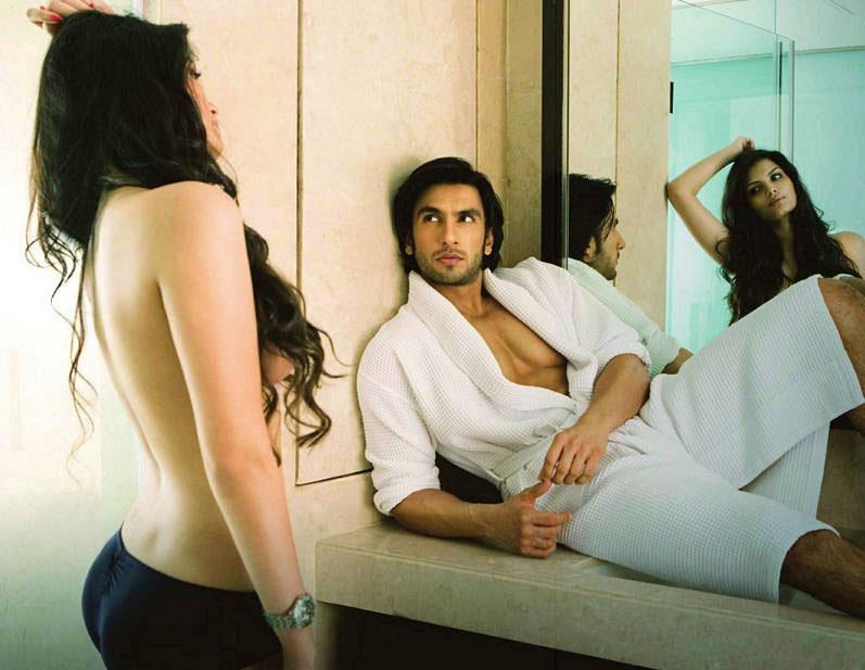 Ranveer Singh and Sonali Raut in Maxim magazine. - Pic 4
