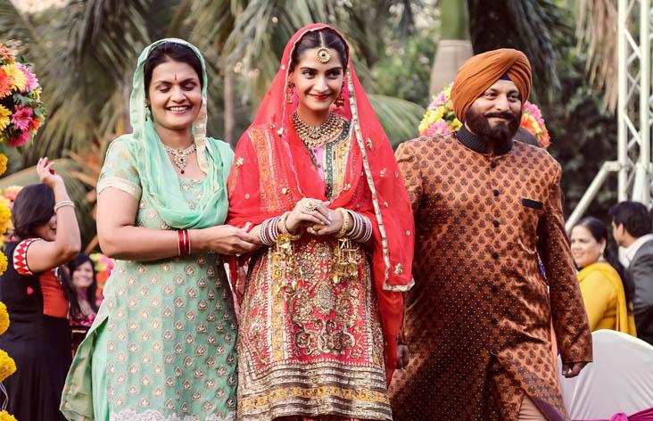 Sonam Kapoor as Punjabi Bride