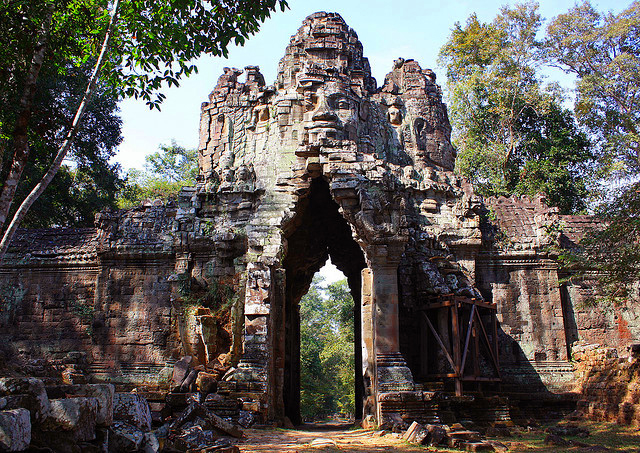 Angkor Archaeological Park in Cambodia