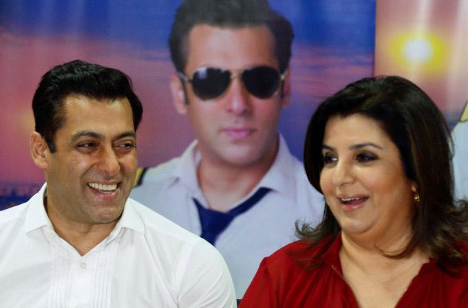 Salman Khan and Farah Khan on the sets of Bigg Boss - Pic 1