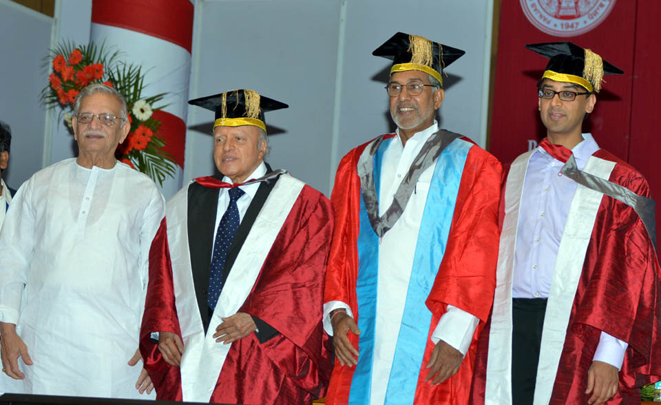 Kailash Satyarthi ji with guljar