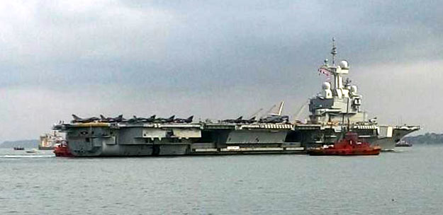 Indo-French Naval Exercise
