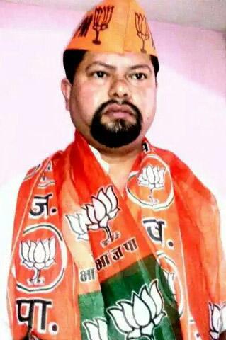 भारतीय जनता पार्टी का 36 वां स्थापना दिवस अपने घर पर सेक्टर 32 सी , चंडीगढ़ भजपा कार्यकर्ता शशि प्रकाश पांडेय ने इस अंदाज़ में मनाया | व अपने घर पर झंडा लहराया |