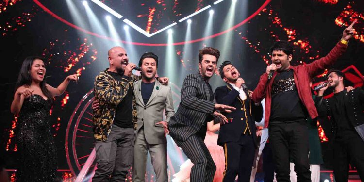 Indian Idol 10 throws a bachelor party for Kapil Sharma for his