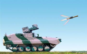 Anti tank Missile NAG hits bulls eye