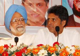 Manish Tewari with PM